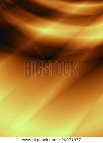 Sun orange background