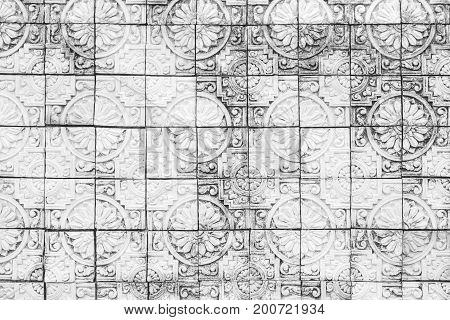Black and white brick wall texture background / Brick wallpaper abstract paint.