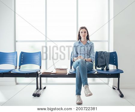 Student In The Waiting Room