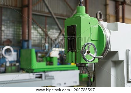 Plant for the production of machine tools. New Mechanical vertical milling machine.