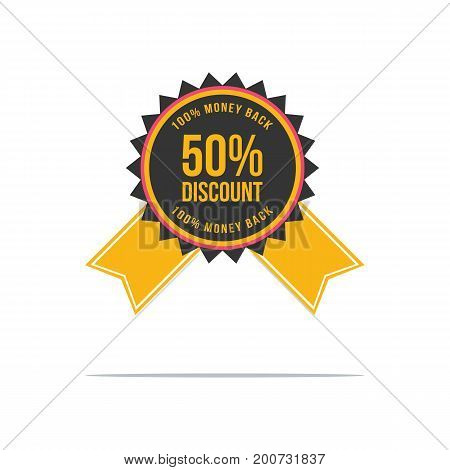 Collection stock price label top sale vector illustration