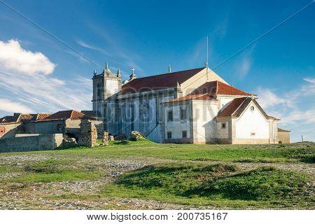 Church in the beautiful Cabo Espichel Portugal