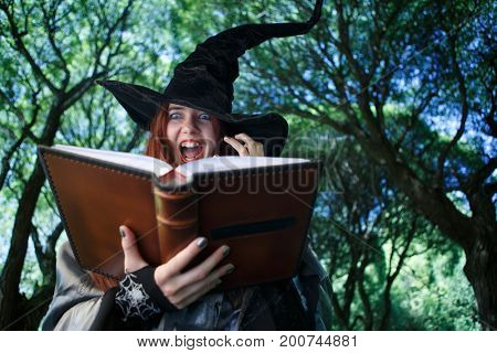 Photo of witch casting spell
