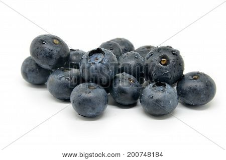 Tasty Blueberries Isolated