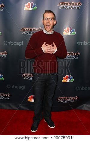 NEW YORK-SEP 9: Comedian Gary Vider attends the America's Got Talent Season 10 Semi-finals taping at Radio City Music Hall on on September 9, 2015 in New York City.