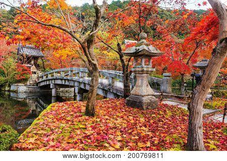 Eikan-do Garden With Fall Colors, Kyoto