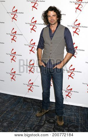 LOS ANGELES - AUG 19:  Daniel Hall at the Young and Restless Fan Event 2017 at the Marriott Burbank Convention Center on August 19, 2017 in Burbank, CA