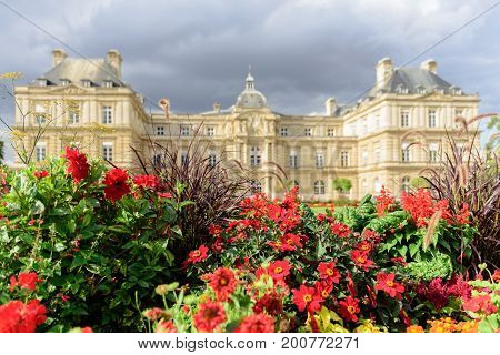 The Luxembourg Palace, Jardin du Luxembourg, Paris, France