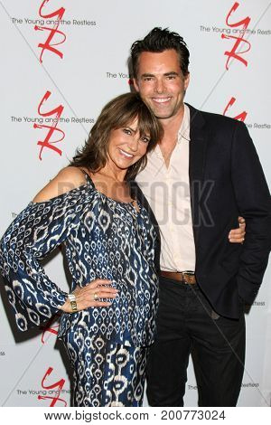LOS ANGELES - AUG 19:  Jess James, Jason Thompson at the Young and Restless Fan Event 2017 at the Marriott Burbank Convention Center on August 19, 2017 in Burbank, CA