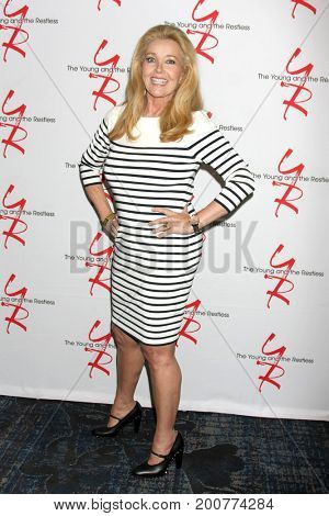LOS ANGELES - AUG 19:  Melody Thomas Scott at the Young and Restless Fan Event 2017 at the Marriott Burbank Convention Center on August 19, 2017 in Burbank, CA