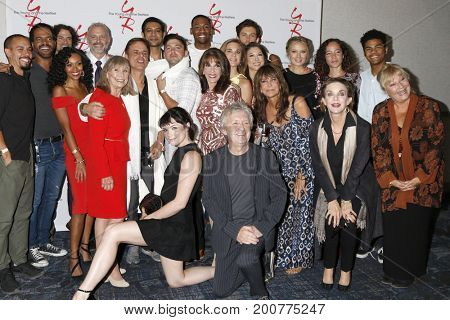 LOS ANGELES - AUG 19:  YnR Group, Mal Young at the Young and Restless Fan Event 2017 at the Marriott Burbank Convention Center on August 19, 2017 in Burbank, CA