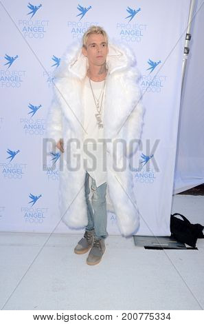 LOS ANGELES - AUG 19:  Aaron Carter at the Project Angelfood 2017 Angel Awards Gala at the Project Angelfood on August 19, 2017 in Los Angeles, CA