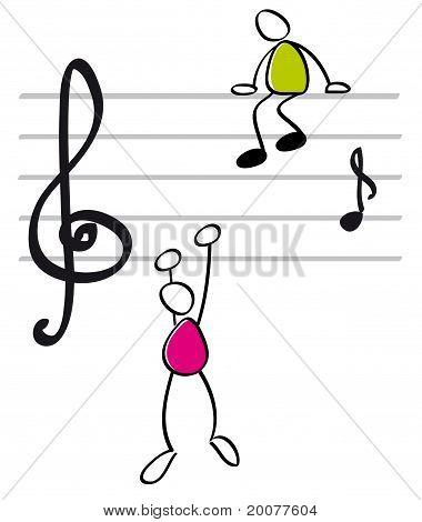 funny musicants