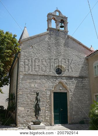 Church In The City Of Osor