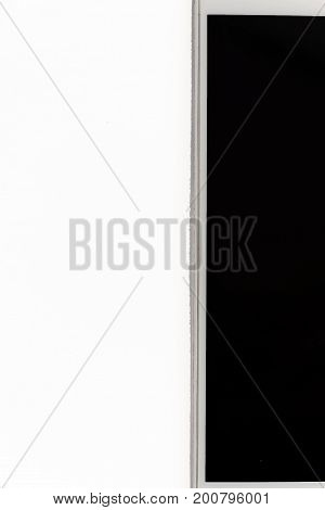 Ouch Phone Smartphone, Close-up, Isolated On White