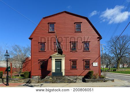 White Horse Tavern was built in 1673, is the oldest continuously operating tarvern of the nation in Newport, Rhode Island, USA.