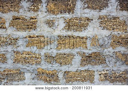 yellow vintage wall texture old plaster texture background