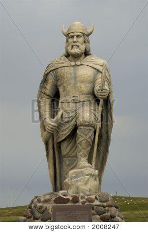 Full Viking Statute In New Iceland