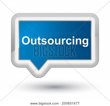 Outsourcing Prime Blue Banner Button