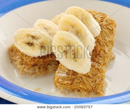 Weet Bix And Bananas