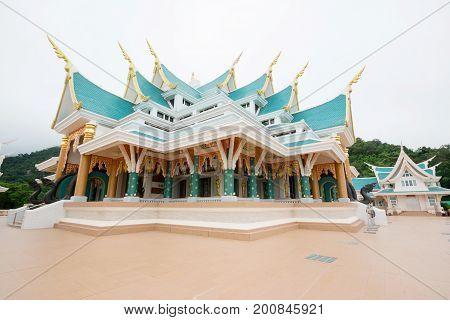 Wat Phu kon temple, Famous temple at Na Yung District, Udon Thani