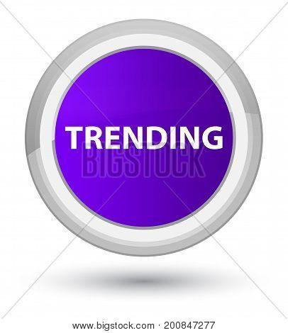 Trending Prime Purple Round Button