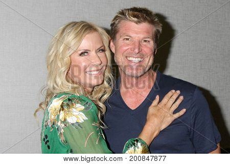 LOS ANGELES - AUG 20:  Katherine Kelly Lang, Winsor Harmon at the Bold and the Beautiful Fan Event 2017 at the Marriott Burbank Convention Center on August 20, 2017 in Burbank, CA