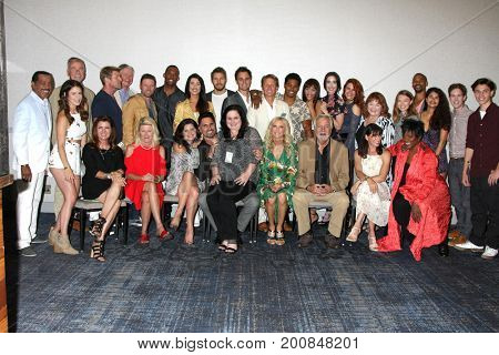 LOS ANGELES - AUG 20:  Bold and Beautiful Cast, Cathy Tomas at the Bold and the Beautiful Fan Event 2017 at the Marriott Burbank Convention Center on August 20, 2017 in Burbank, CA