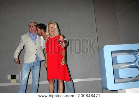 LOS ANGELES - AUG 20:  Dick Christie, Thorston Kaye, Alley Mills at the Bold and the Beautiful Fan Event 2017 at the Marriott Burbank Convention Center on August 20, 2017 in Burbank, CA