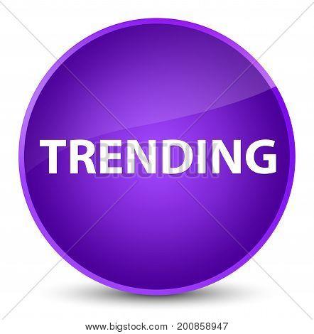 Trending Elegant Purple Round Button