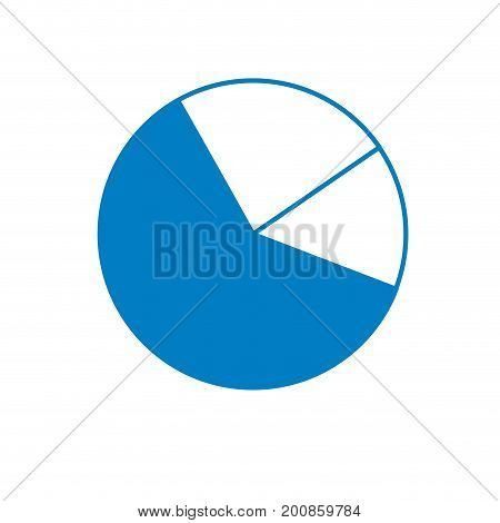 silhouette statistics diagram graphy to business presentation vector illustration