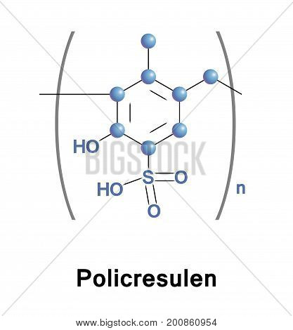 Policresulen is a topical haemostatic and antiseptic. It is indicated for common anal disorders such as hemorrhoids and for gynecological infections