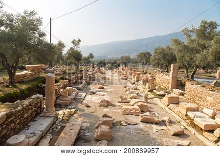 Nysa Ancient City