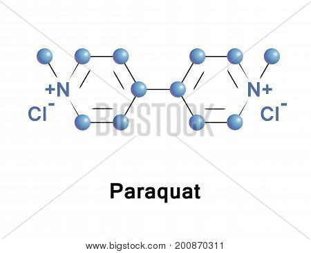 Paraquat is the organic compound that classified as a viologen