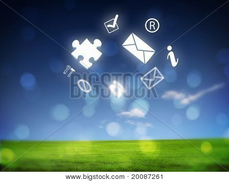Various items of business on the skyline