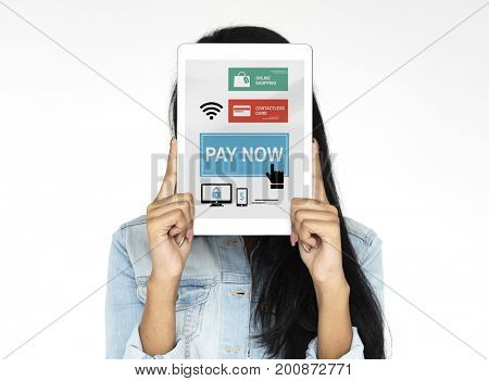 Contact Payment Online Banking Innovation Technology Graphic