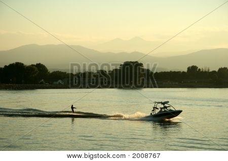 Waterski And Boat