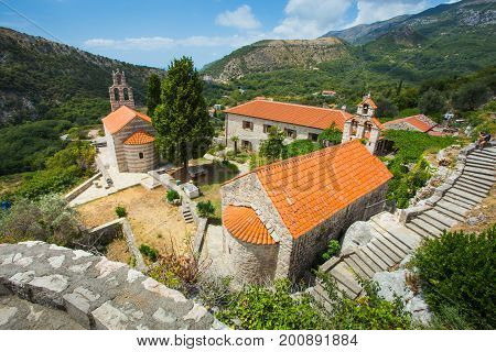 The Monastery Gradishte. 14Th Century Ad. Montenegro