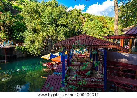 Resting Places On Dim River Alanya