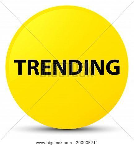 Trending Yellow Round Button