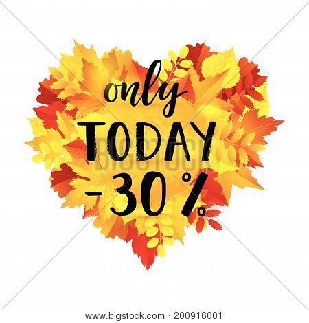Autumn Sale Only Today -30% Banner