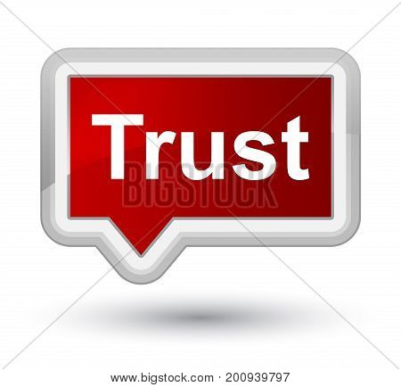Trust Prime Red Banner Button