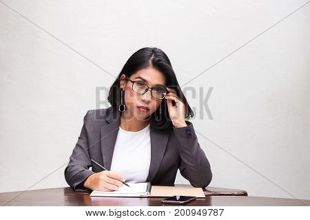Portrait Of A Bussiness Woman