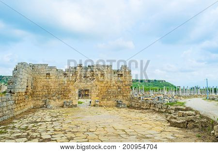 The Ruins Of Perge