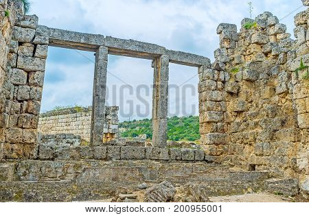 Walk Among The Stones Of Perge