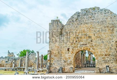 The Shrines Of Old Perge