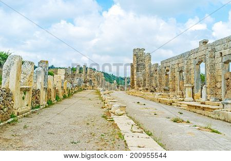 The Ruined Houses Of Perge