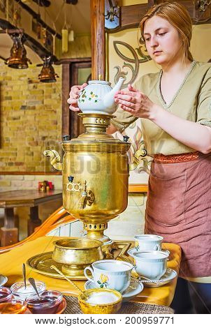 Enjoy The Russian Tea Ceremony