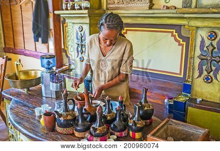 Ethiopian Coffee Making
