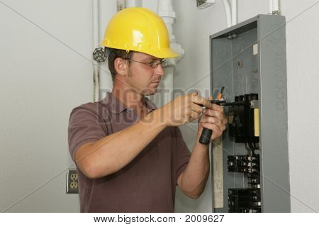 Electrician Industrial Panel